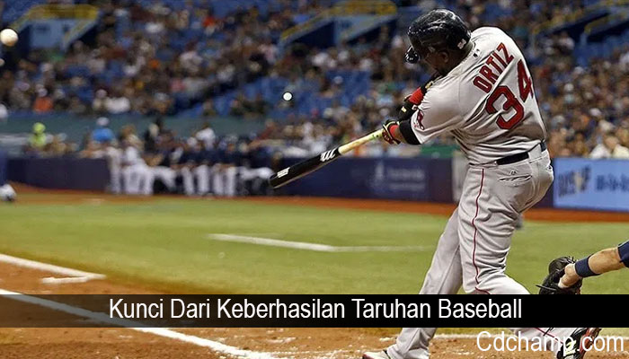 Kunci Dari Keberhasilan Taruhan Baseball